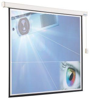 Afstandbediening projectiescherm elektrisch