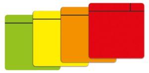 Magneetfolie Scrum geel