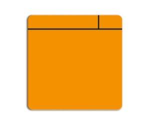 Magneetfolie Scrum oranje