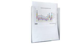 Magnetisch documenthouder A4
