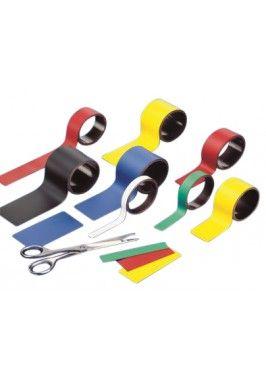 Magnetsiche band 100cm Rood -  2x100 cm