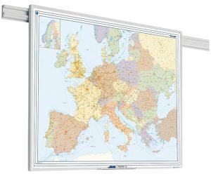 PartnerLine Rail landkaart Europa