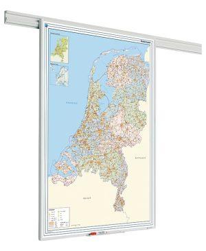 PartnerLine Rail landkaart Nederland