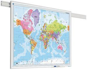 PartnerLine Rail landkaart Wereld
