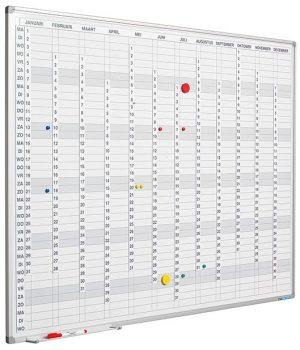 GB incl. maand-/dagen-/cijferstroken - 90x120 cm