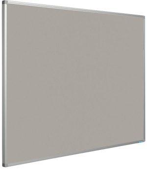 Prikbord Softline profiel 16mm bulletin Grijs - 120x240 cm