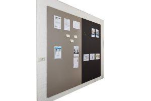 Prikbordwand frameless