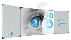 Projectiebord Extraflat voor interactieve beamers