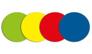 Symbool Cirkel rood