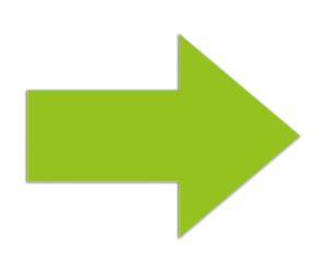 Symbool Pijl groen