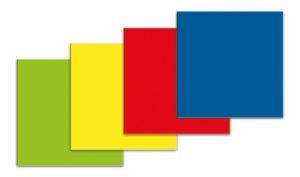 Symbool Vierkant groen